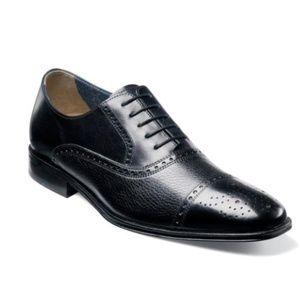 Florsheim Otavio Perf Cap Toe Oxford Dress Shoe